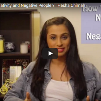How To Deal With Negativity & Negative People
